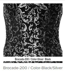 Borcade-200 Color-BlackSilver