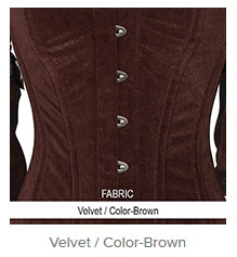 Velvet- Color-Brown