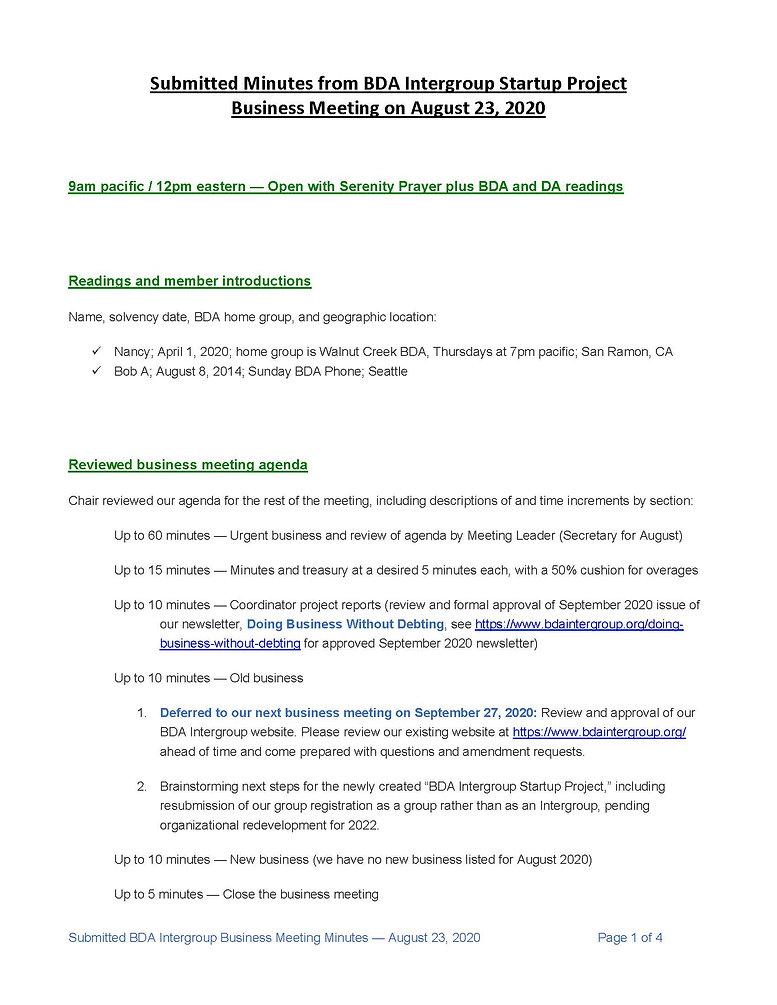 2020_08_23 - BDA Intergroup August 2020