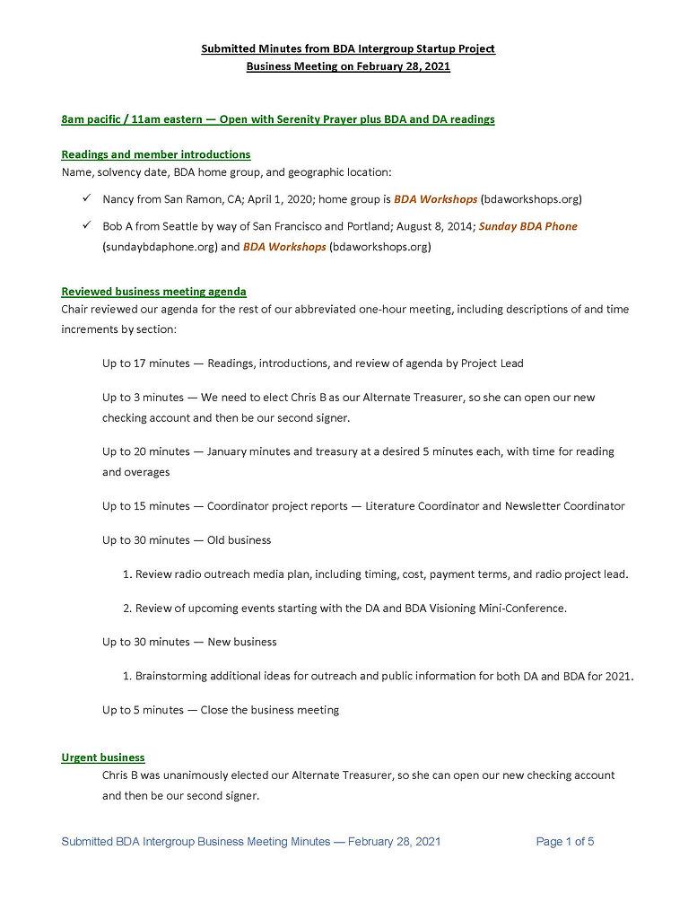 2021_02_28 - BDA Intergroup February 202