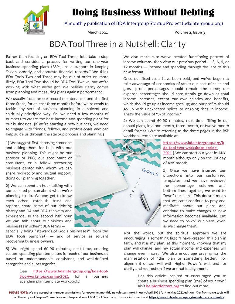 2021_02_24 - March 2021 BDA Newsletter (