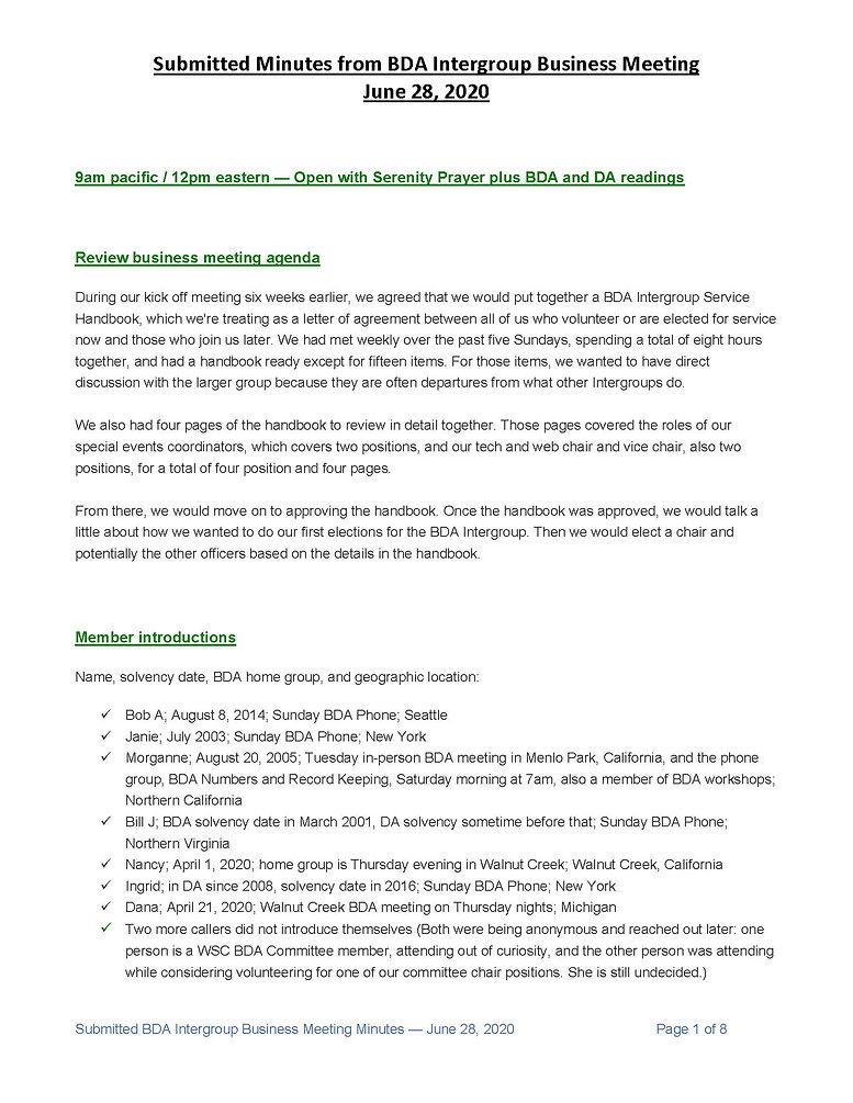 2020_06_28 - BDA Intergroup June 2020 Mi