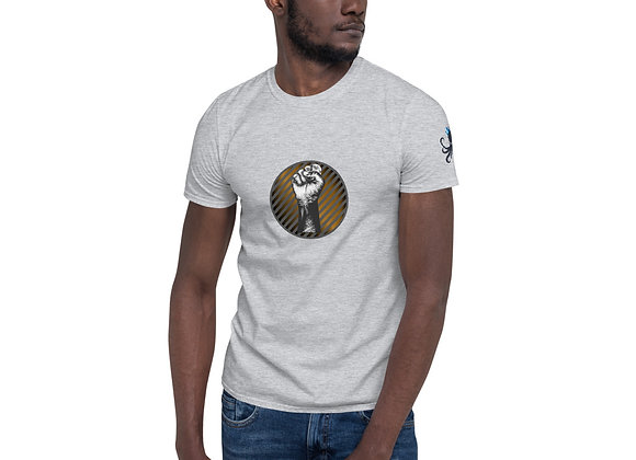 BLM Gradient Power Fist Short-Sleeve Unisex T-Shirt