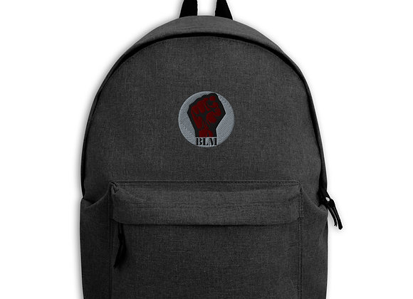 BLM Embroidered Backpack