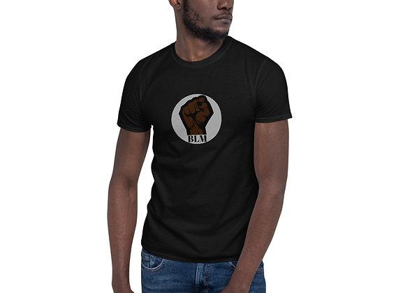 Power fist BLM Short-Sleeve Unisex T-Shirt