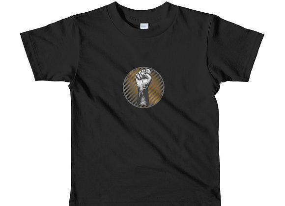 BLM Gradient color Short sleeve kids t-shirt