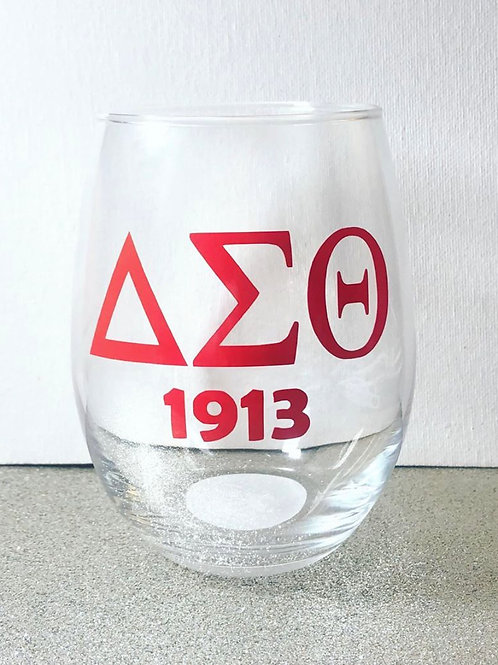Fraternity | Sorority Glass