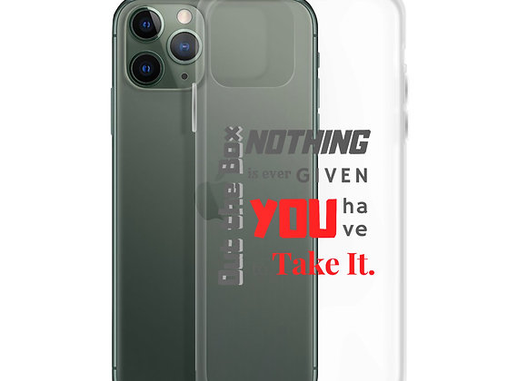 Ambition 1 iPhone Case