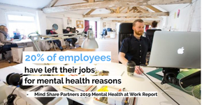 Why Mental Health in the Workplace is Culture Change, Not Just a Benefits Program