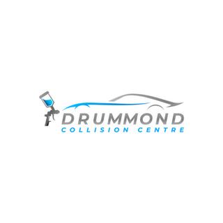 Drummond Collision Logo Design