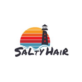 Salty Hair Logo Design