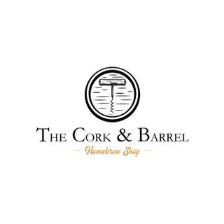 The Cork & Barrel Logo Design