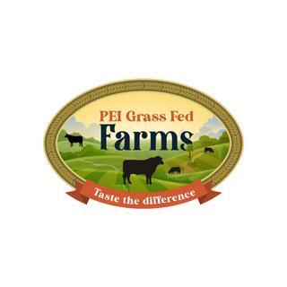 PEI Grass Fed Farms Logo Design