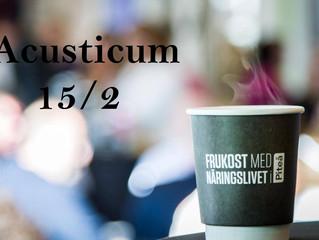 15/2 Årets första Frukost med näringslivet i Piteå.