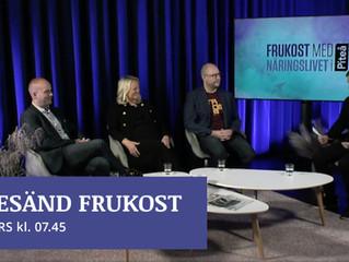 Titta på årets första Frukost med näringslivet i Piteå 19/3