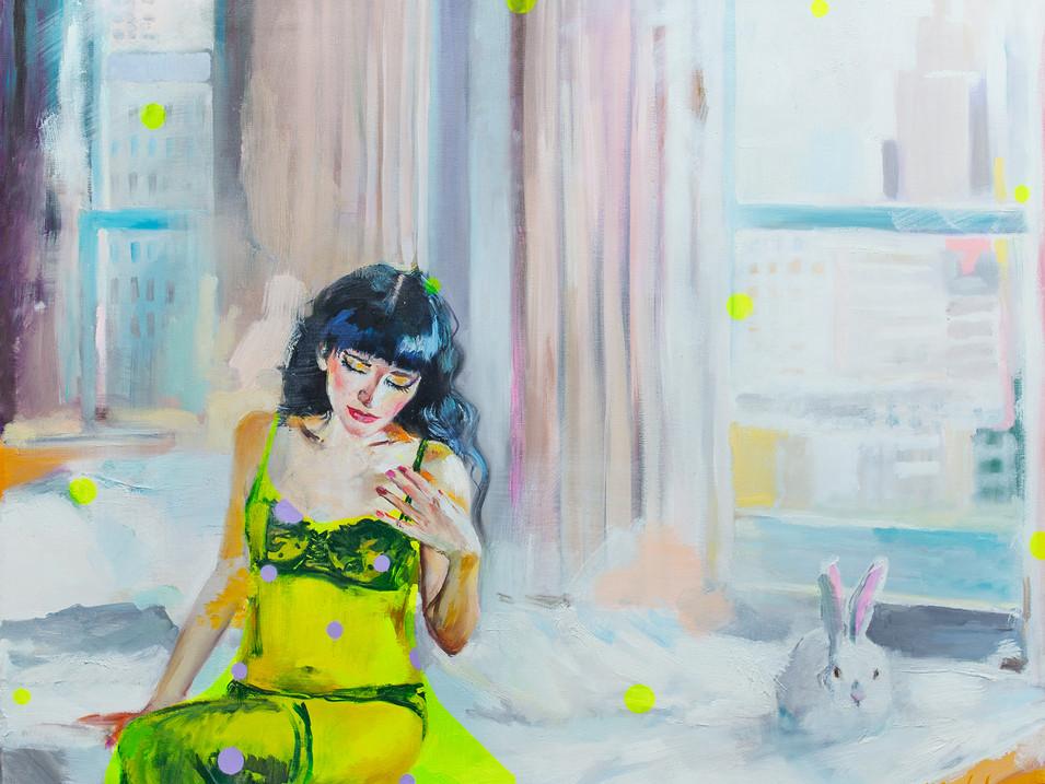 Надя и кролик 80х100.jpg
