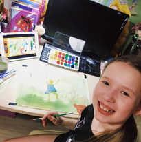 Рисуем дома по онлайн урокам