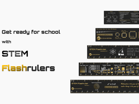 STEM Flashrulers on Kickstarter Campaign