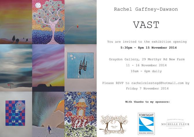 VAST Exhibition Invitation