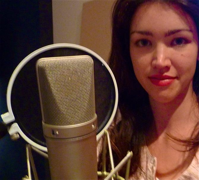 Recording 'The Child' at Gasworks Studio