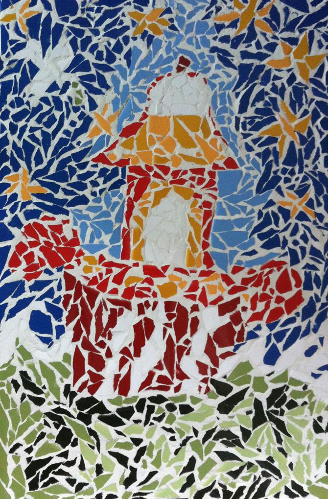 Mosaic making