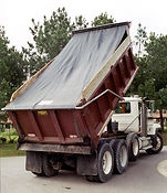 Asphalt, Sand and Gravel Tarps for Dump Trucks