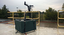 Jib Crane Basket