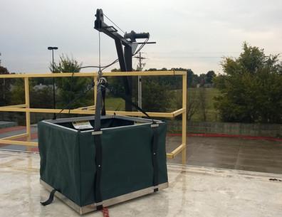 Jib Crane Hoist Basket