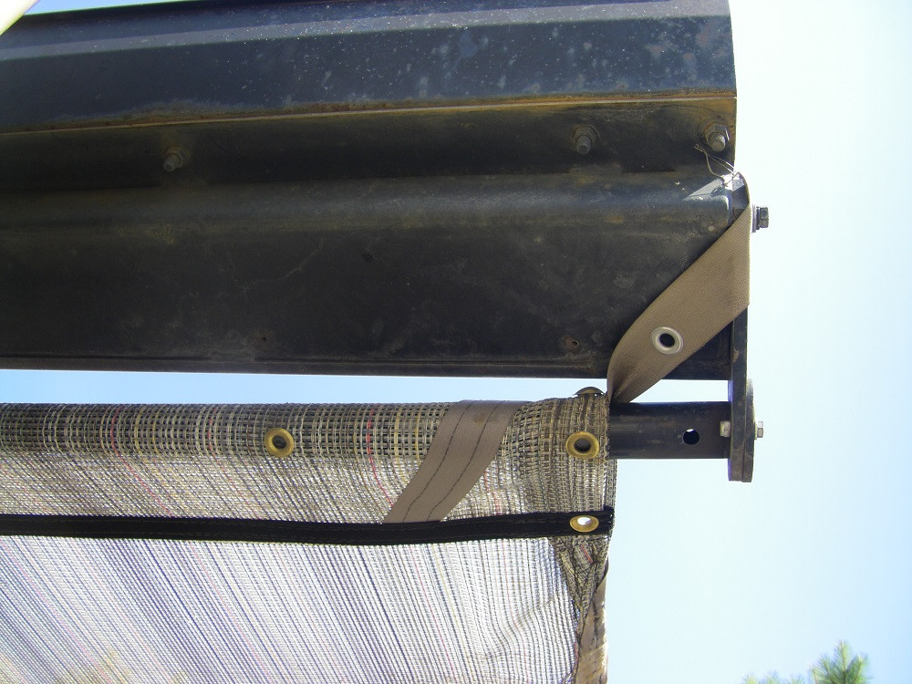 Auto Tarp for Solid Waste Roll Off Trucks