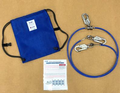 edgeARMOR Rapid Restraint Lanyard R120 Kit