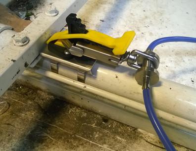 edgeARMOR Hook Clamp Anchor