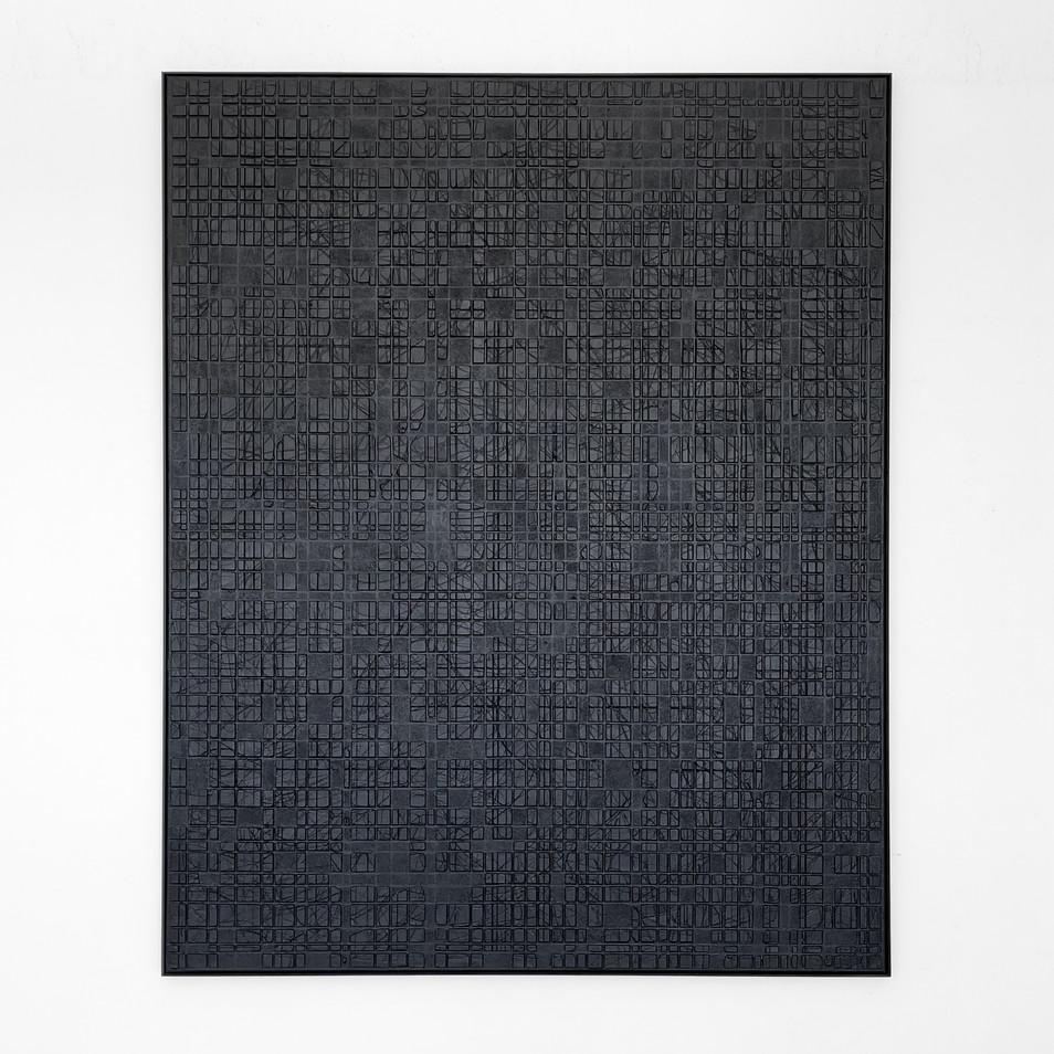 Black Conjunction (0513) 2021 - 120x150cm