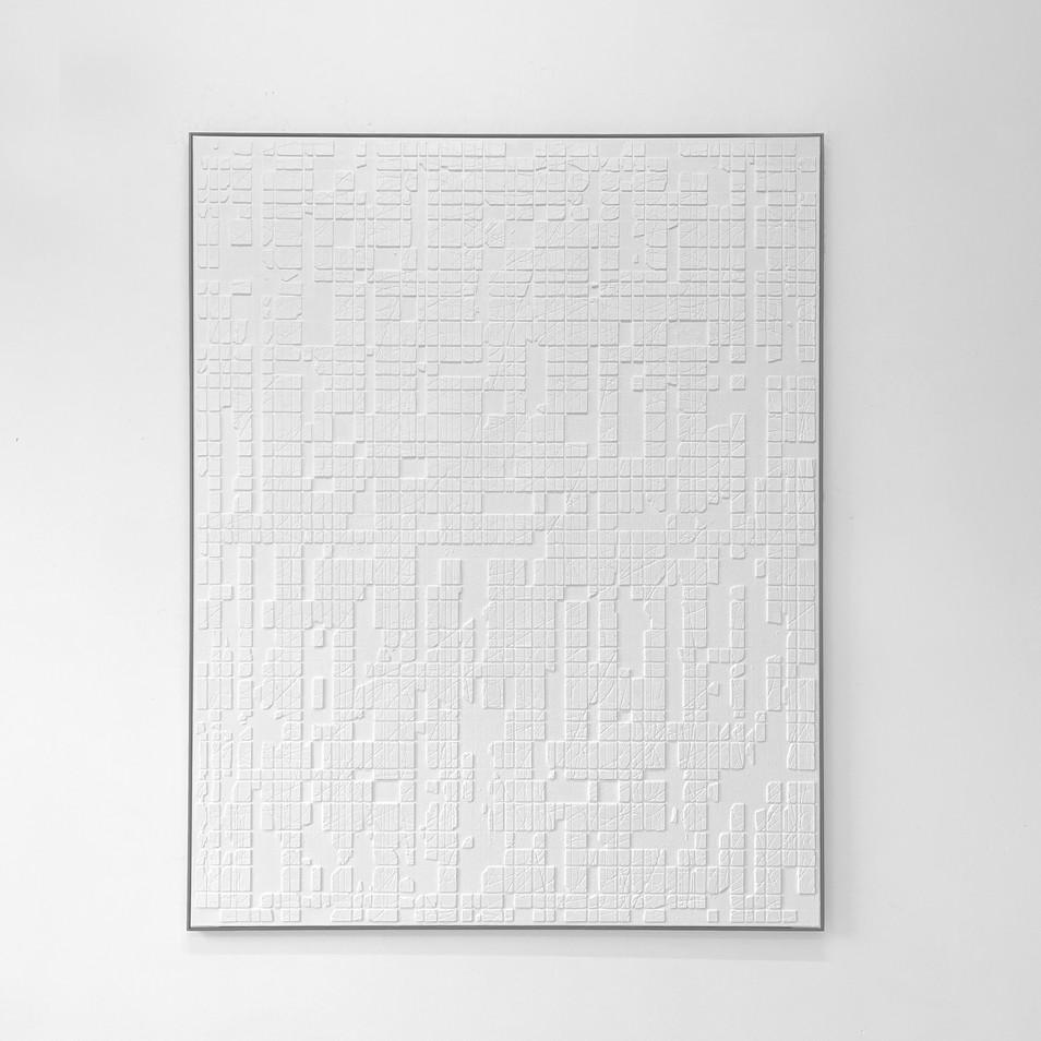 White Conjunction (0308) 2021 - 120x150cm