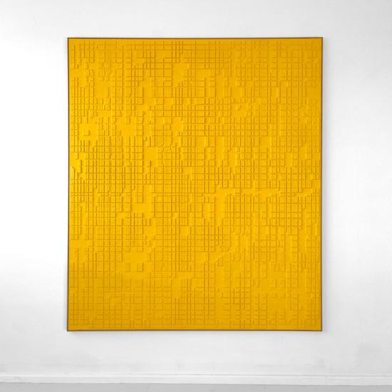 Yellow Conjunction (0805) 2021 - 140x160cm
