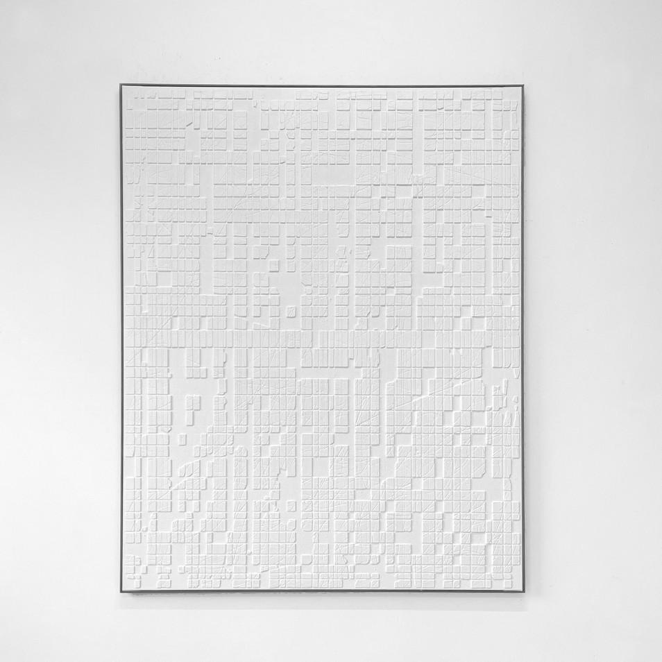 White Conjunction (0307) 2021 - 120x150cm