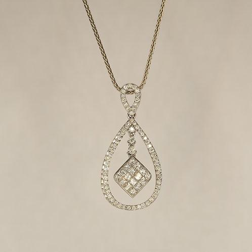 Diamond Birdcage Pendant