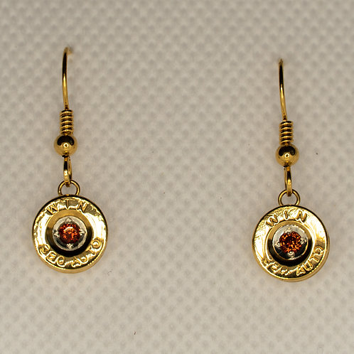 Love Shot Dangle Earrings (garnet)