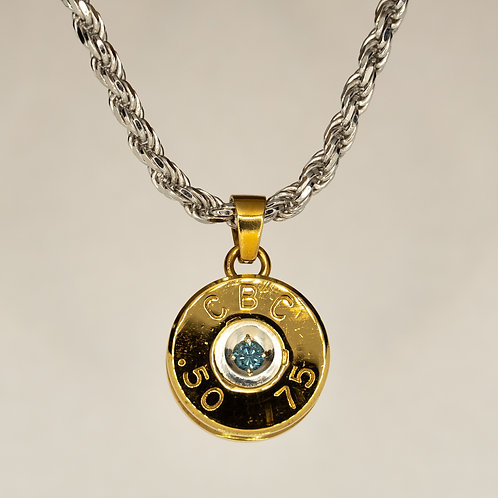50 Cal Love Shot (blue diamond)