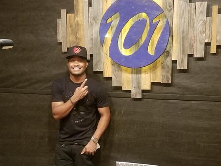 Studio 101 FB Live !!!! Tune in on Rocc Reggie page or Studio 101.@ 7:30 pm.....