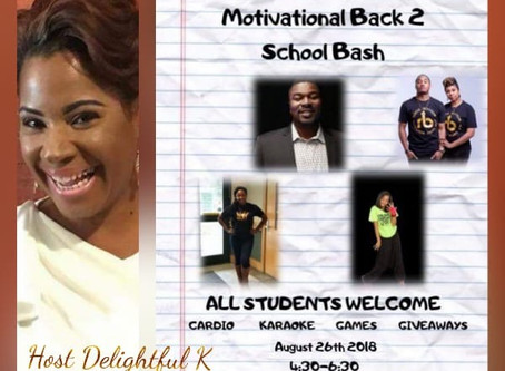 Bring your kids to this free event! As we motivate our youth to have an awesome productive year in s