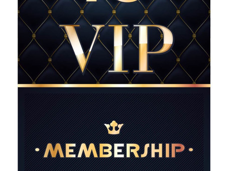 VIP Customers check out what's available for November.
