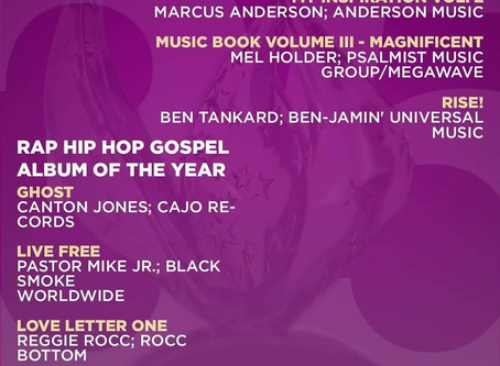 2020 Stellar Awards Nominations
