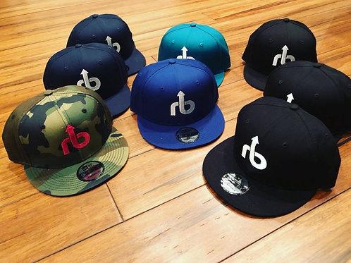 Rocc Bottom NewEra Camo Snap Back Hats