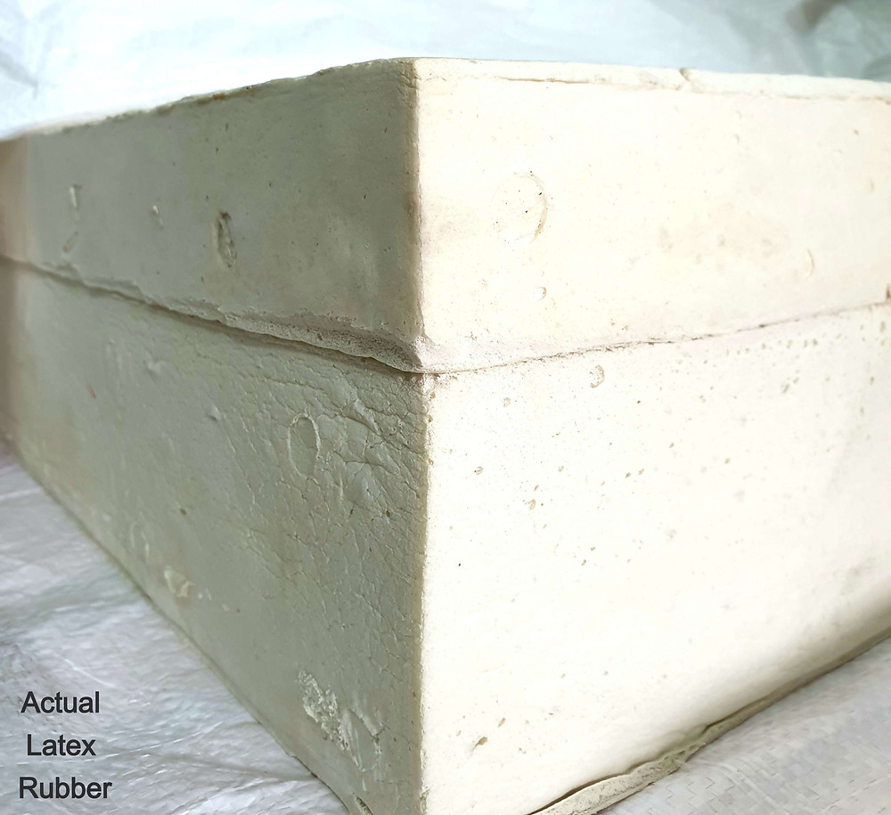 Dunlop/ Salb natural latex sheet