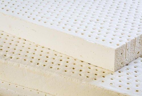 Pin-core rubber latex sheet