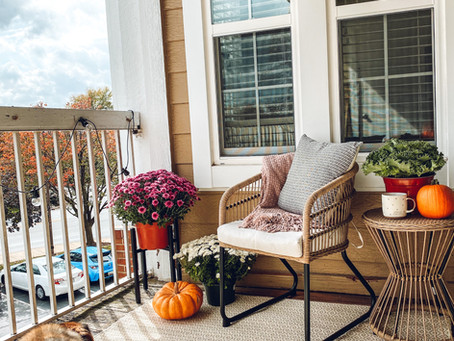 Easy Ways to Cozy Up Your Patio for Fall