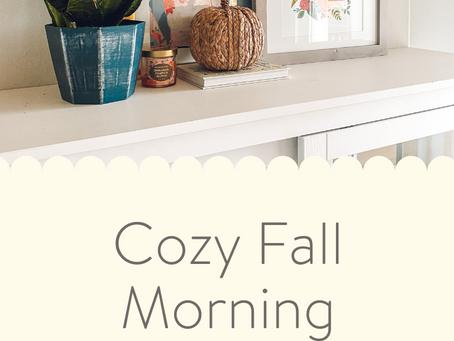 Cozy Fall Morning Playlist