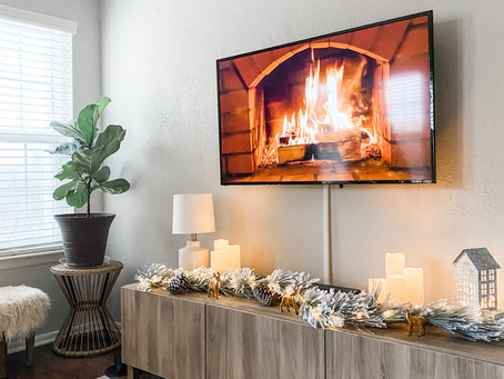 My Holiday TV Console and Target Christmas Favorites