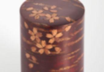 Kaba cherry bark tea container