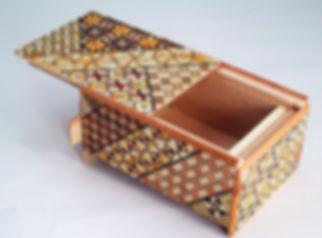 Japanese secret puzzle box